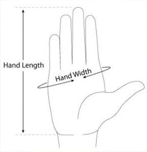 misure guanti donna